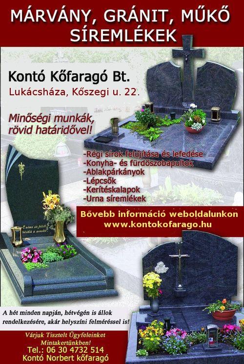 sírkő idézetek rövid Kontó Kőfaragó Bt.   Sírkő készítés, kőfaragó, síremlékek